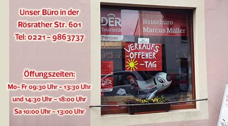 DER Touristik Partner-Unternehmen, Reiseb�ro Marcus M�ller